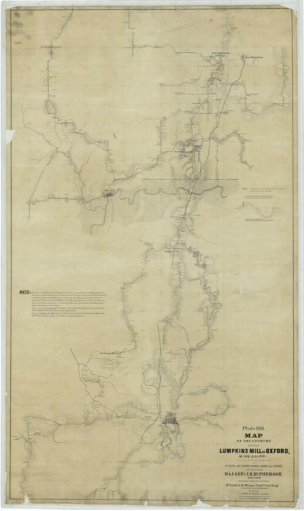 Lumpkins Mill map