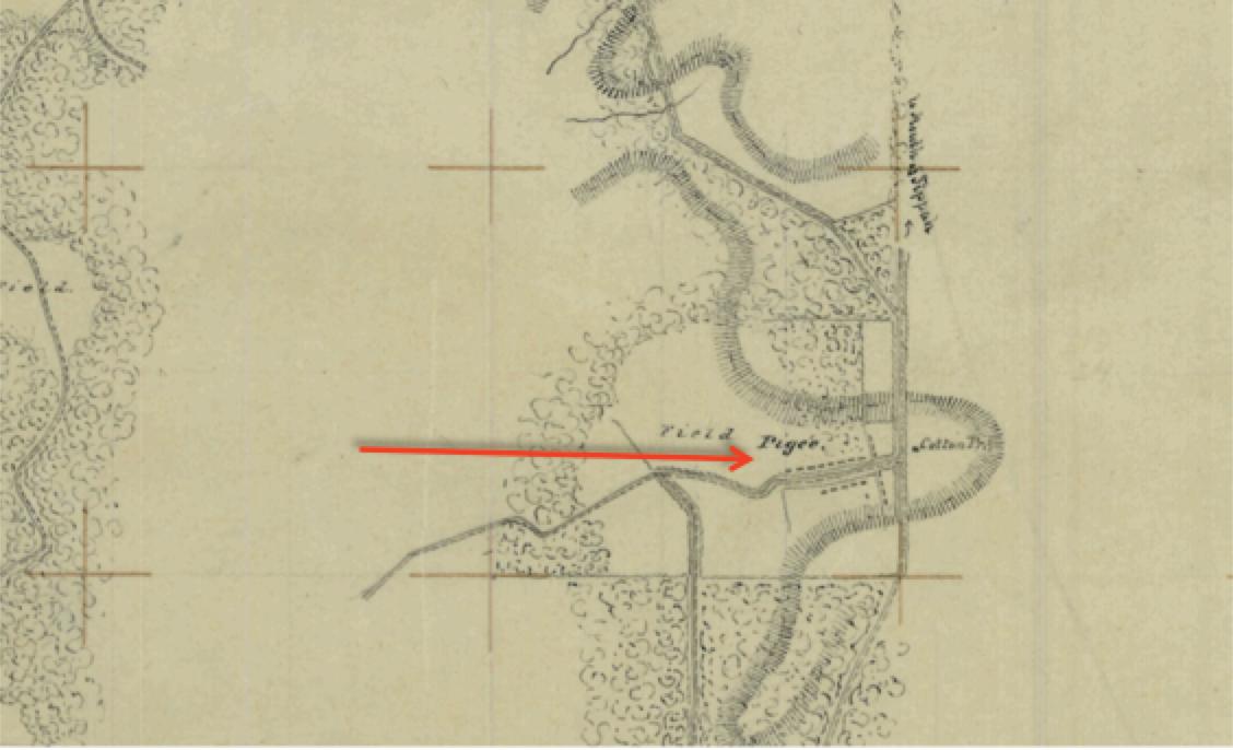 1861 SLAVE MAP Oxford Pascagoula Pearl Petal Philadelphia Picayune Richland MS