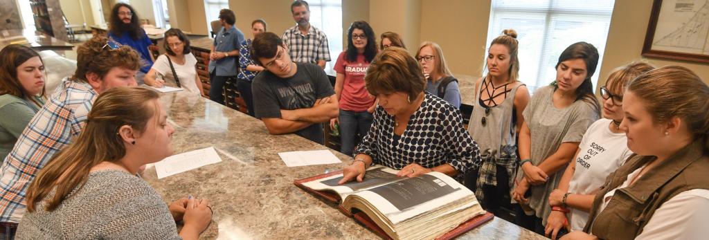 Rowan Oak deed search by arch student copy