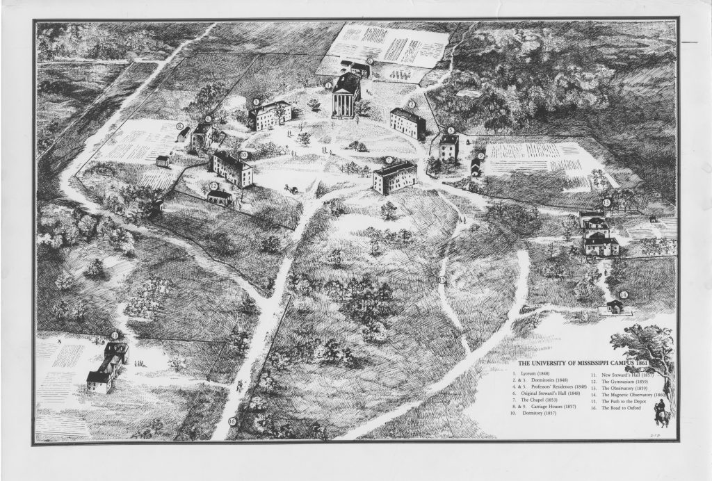 1861 UM map