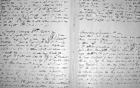 William Johnson kept a 16-year diary detailing everyday life in Natchez. NPS Photo
