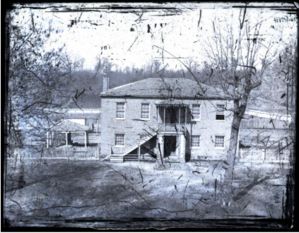 Original Steward's Hall (circa 1860). Source: UM Special Collections, Edward C. Boynton Collection