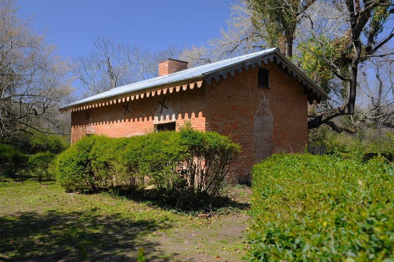 the old kitchen behind Rowan Oak for select students and faculty members. Photo by Robert Jordan/Ole Miss Communications