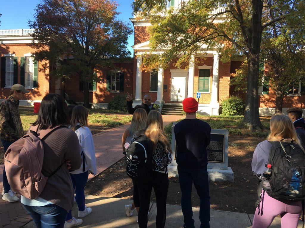 Campus Slavery Tour 2